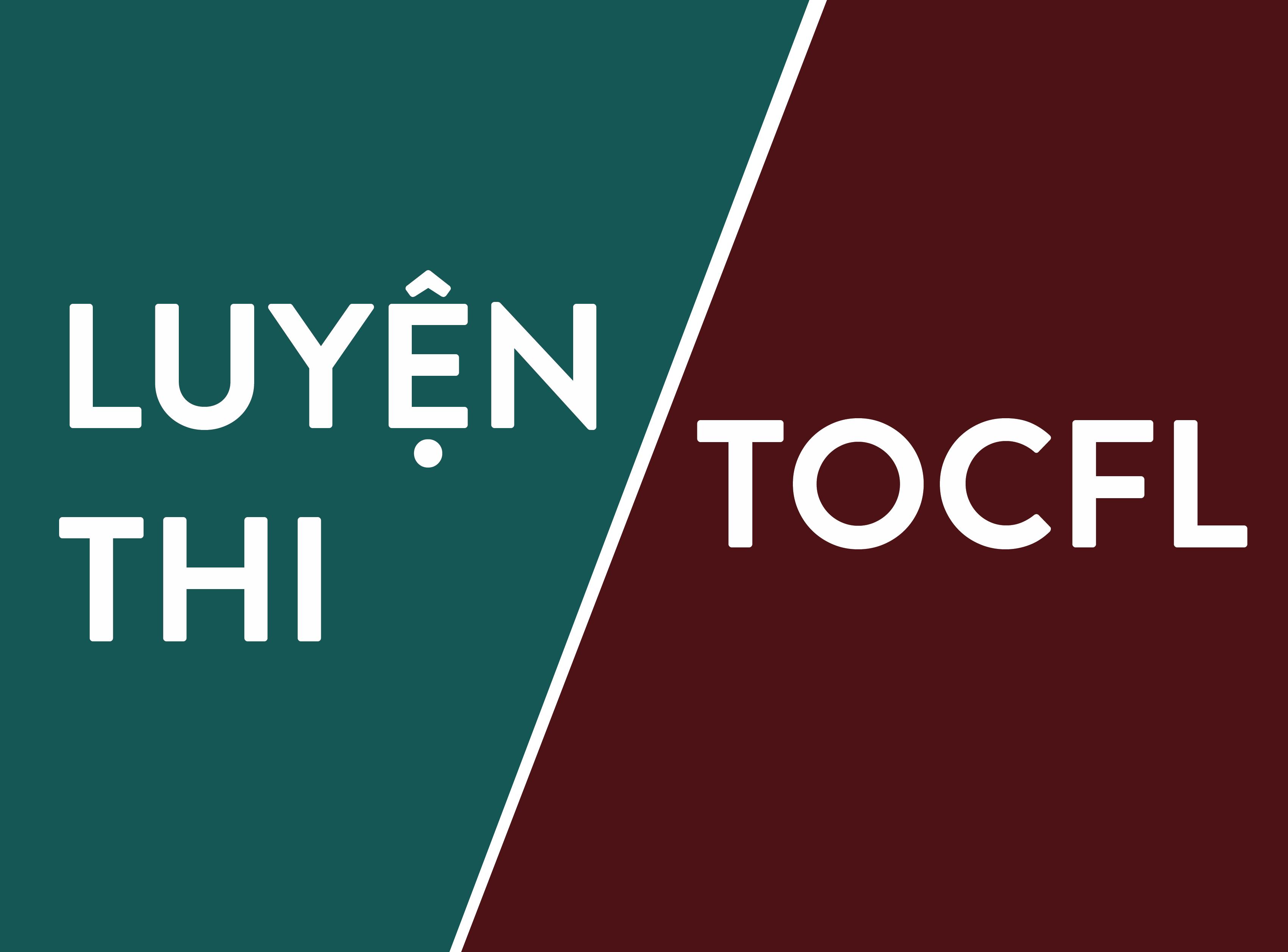 Luyện thi TOCFL - Trung tâm Hoa văn SaigonHSK