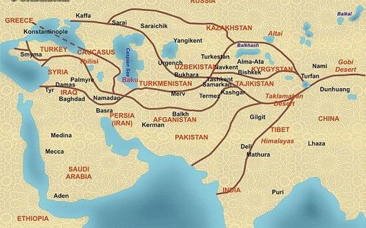 """Huyền thoại về """"con đường tơ lụa"""" nổi tiếng trong lịch sử"""