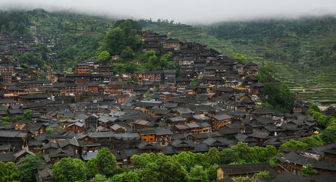 Làng cổ dân tộc Miêu 1.700 tuổi – Trung Quốc