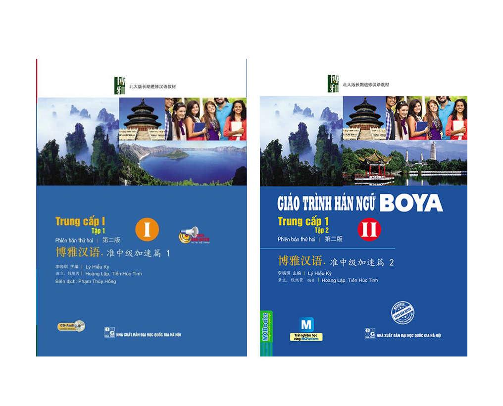 Download bộ giáo trình BOYA (pdf kèm file nghe)