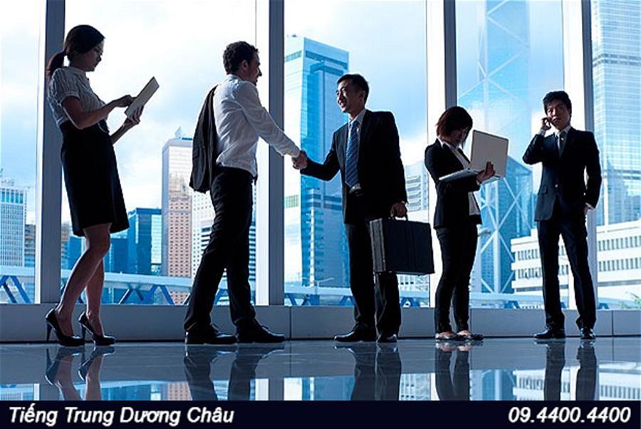 Văn hoá kinh doanh của người Trung Quốc